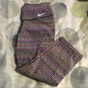 Nike Printed Capri Leggings